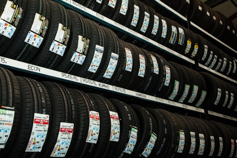 Run flat tyres in garage